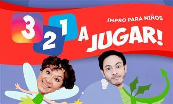 Entrada para Adulto o niño en Show 3,2,1 a jugar ¡Impro para niños!