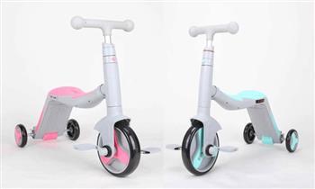 Tri-scooter 3 en 1, triciclo/Scooter/bicicleta  música y luces ¡Con delivery!