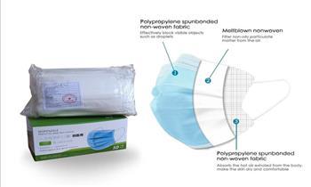 100 unds: 02 cajas de mascarillas de 3 pliegues planas ¡Incluye delivery!