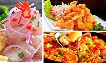 Piqueo Bravazo Oh Mar para 2 personas: Ceviche de pescado + chicharrón mixto y mas