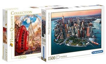 Rompecabezas Clementoni  de 1500, 2000 o 3000 piezas modelo a elegir + delivery