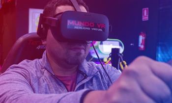 Sesión de Juego de realidad virtual en Mundo VR ¡Muestra tu cupón desde tu celular!