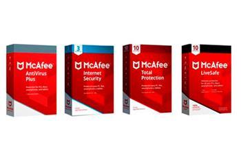 Antivirus McAfee para 1, 3 o 10 PC por 1 año