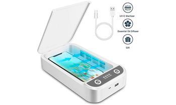 Caja Esterilizadora UV – C  Multifuncional ¡Esteriliza llaves, celulares, etc!