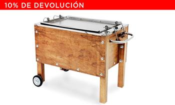 Caja China MEDIANA de ACERO INOXIDABLE. 60x50x30. Incluye Delivery! (outdoors)