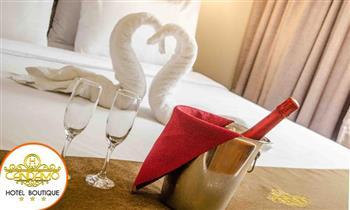 Noche romántica en hab. matrimonial, suite junior o Candamo + desayuno y más