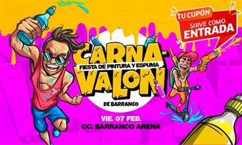Carnavalón de Barranco: ¡Muestra el cupón desde tu celular!