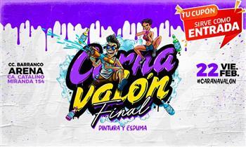 HOY Carnavalón FINAL de Barranco entrada general o VIP - Barranco Arena