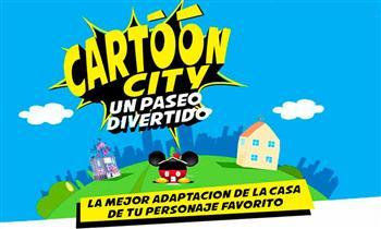 Entrada general a Cartoon City - Del 20/07 al 19/08