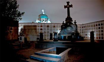 Tour Nocturno temático Cementerio Presbítero Maestro + guía + show y más