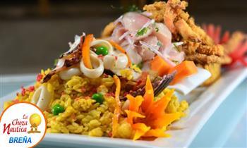 Ronda Chozera para dos: 1 cebiche + 1 arroz con mariscos y más.
