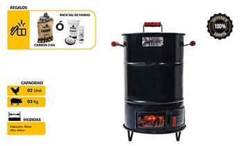 Cilindro MINI fierro + bolsa de Carbón o Sal de regalo! de Grill Store BBQ & Outdoor