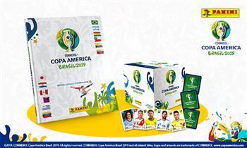 Desde S/ 29.90 por álbum tapa dura de la Copa América 2019. RECOJO INMEDIATO