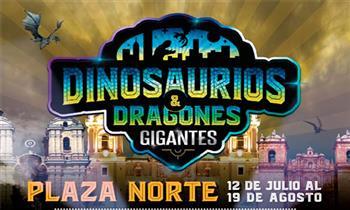 Entrada para niño o adulto para Dinosaurios y Dragones Gigantes