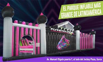 Entrada para niño o adulto para el Parque de Inflables más grande de Sudamérica