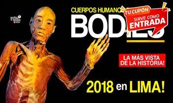 Entrada para evento Bodies exposición de cuerpos humanos