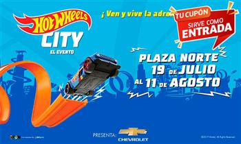 Pre-Venta entrada para el evento Hot Wheels City por primera vez en Lima