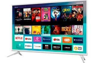 """TV Smart De 32"""" marca HYUNDAI color Silver"""