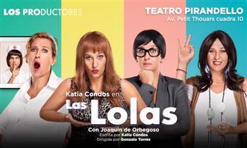 2x1 entradas a LAS LOLAS en el Teatro Luiggi Pirandello. Elige zona.
