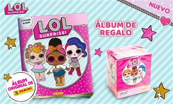 Paquetón LOL SURPRISE + álbum de regalo