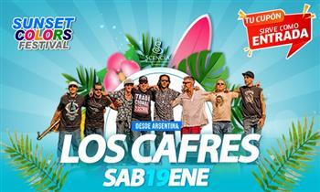 Entrada Preferencial o VIP para concierto de Los Cafres.