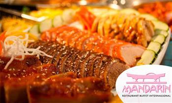 Buffet de lunes a domingo en el Restaurant Buffet Internacional Mandarín.