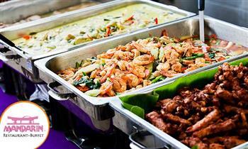 Restaurant Buffet Internacional Mandarín lunes a domingo