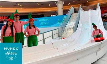 Open Plaza Angamos: Mundo Nieve ¡Muestra el cupón desde tu celular!