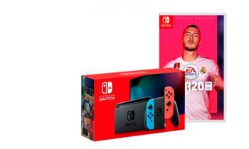 Consola Nintendo Switch 2019 Bateria Extendida + Fifa 20 + Delivery incluido