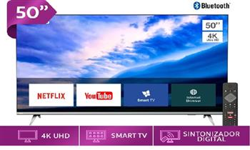 LED 50 pulgadas 4K UHD Borderless Smart TV 50PUD6654 + delivery ¡Elegante, 4K, Smart!