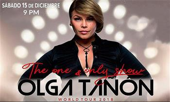 "Entrada Platinium para Olga Tañon ""The One & Only Tour"" 2018"