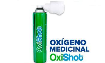 Oxishot (Oxigeno Medicinal) por 4.6 lt o 8 lt. según elijas ¡Incluye Delivery!