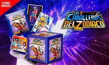 Los Caballeros del Zodiaco: S/ 88 paquetón de figuritas.