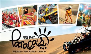 Full Day Paracas - Huacachina – Chincha servicio VIP preferencial + desayuno y más