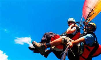 Vuelo en parapente + cuatrimotos + instructor con traslados ida y vuelta y más
