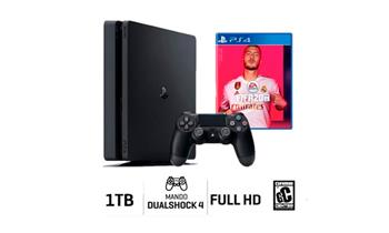 Consola Playstation 4 Slim 1TB + PES 2020 + Delivery incluido