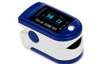 Pulsioxímetro electrónico medidor de oxigeno cardíaco marca CONTEC ¡Incluye delivery!