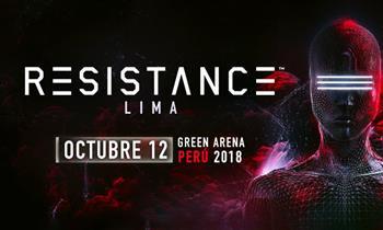 Entrada Platinum para Resistance 2018 - 12 de octubre en Green Arena