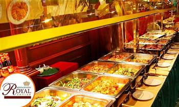 Almuerzo Buffet o Cena Buffet Bailable en Restaurante Royal