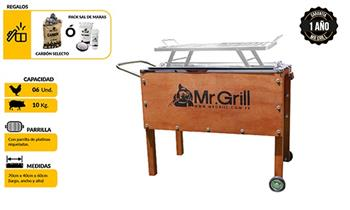 Me la juego x 1 CAJA CHINA MEDIANA PREMIUM Mr. Grill. Te devolvemos el total en créditos.