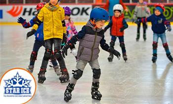 Star Ice: Pista de patinaje Glice para 2 personas Lima