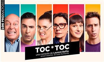 PAGAN DOS, ENTRAN TRES: TOC*TOC La Comedia del Año en el Teatro Luiggi Pirandello