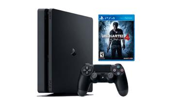 Consola Ps4 Slim 1TB + Uncharted 4 + Delivery ¡Entrega en 48 hrs!
