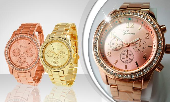 S/.49.99 por lindo y moderno reloj Geneva para dama