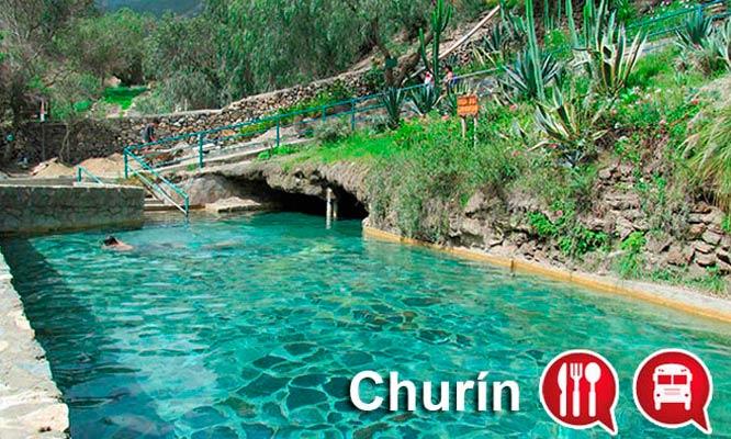 Baños Termales Ninos:Disfruta de Los Baños Termales de Churín! 2D/1N para 2 o 3