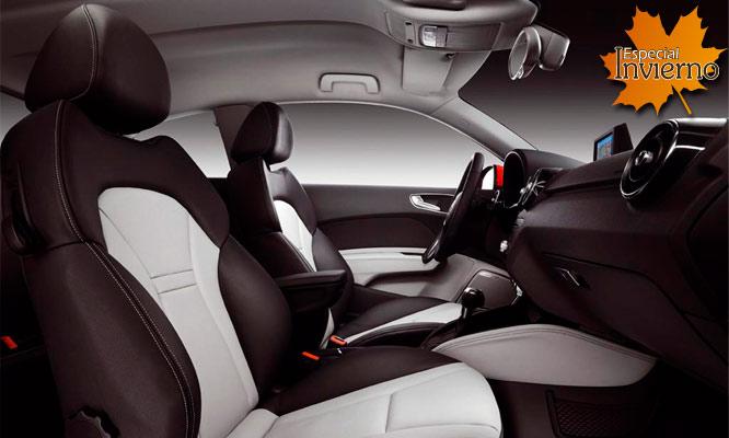 S 495 por tapizado de asientos en tacto cuero para autos for Coches con silla para carro