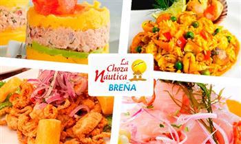Buffet marino criollo en La Choza Náutica de Breña