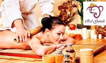Miraflores: Bambú terapia + masaje shiatzu de cuerpo completo y más