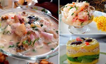 Almuerzo marino para 2: entrada + 2 platos de fondo a elección + bebidas