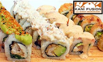 Banquete de makis para 2: acebichado roll + Furai roll y más